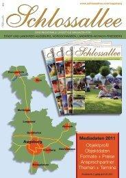 Mediadaten 2011 - Schlossallee