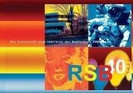 """Sonderausgabe als Festschrift """"40 Jahre RSB"""" - Realschule Bopfingen"""