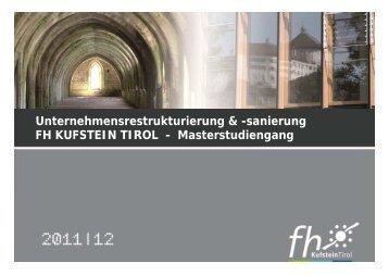 URS Präsentation.pdf - FH Kufstein Tirol