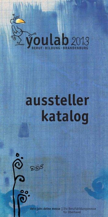 aussteller katalog - youlab 2013