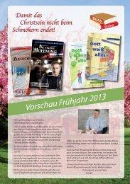 Vorschau Frühjahr 2013 (PDF, ca. 3,0 MB - BOAS-Verlag