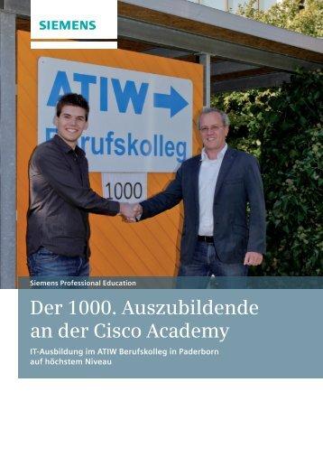 SuccessStory Cisco Academy - Siemens