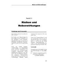 Risiken & Nebenwirkungen der HBO - Verband Deutscher ...