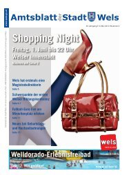 Amtsblatt der Stadt Wels Mai 2012