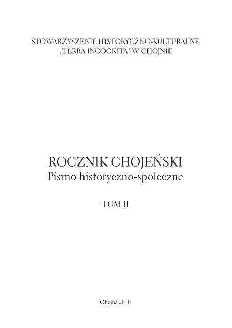Rocznik Chojeński