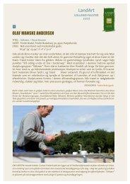 Download informationsmateriale om de enkelte ... - Land-art.dk
