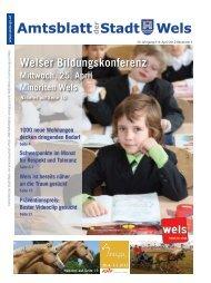 Amtsblatt der Stadt Wels April 2012 (15 MB