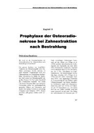 Osteoradionekrose