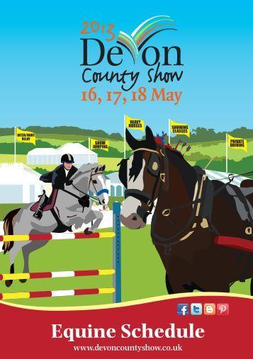 Horses - Devon County Show