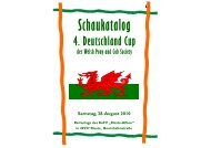 Samstag, 28. August 2010 - Welsh Pony and Cob Society Germany ...