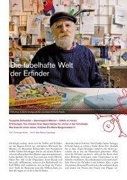 Die fabelhafte Welt der Erfinder - Ideenbörse GmbH