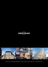 Project develoPment for exclusive retail ProPerties - Duesseldorf ...