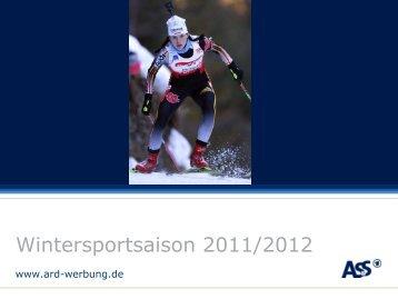 Die Termine im Überblick - ARD-Werbung Sales Services GmbH