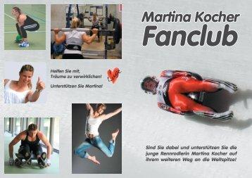 Fanclub & Gönner - Martina Kocher
