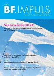 BF.Impuls 02/11 downloaden - Bergmann & Franz