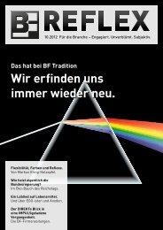 BF.REFLEX Ausgabe 10/12 downloaden - Bergmann & Franz