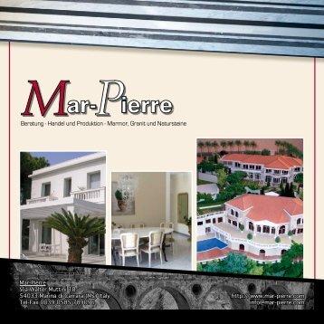 Beratung - Handel und Produktion - Marmor, Granit und ... - Mar-Pierre