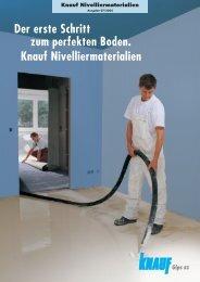 Knauf Nivellierestrich 425