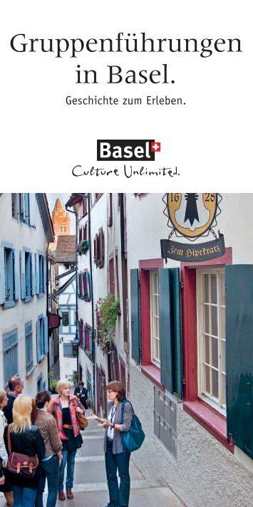 Gruppenführungen in Basel. - Spalenring 10