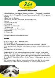 PDF zum downloaden - cdVet Naturprodukte GmbH