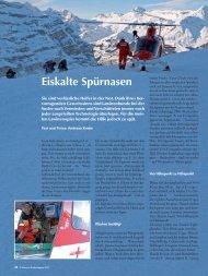 Lawinenhunde: Eiskalte Spürnasen - AUFRAD.CH Home