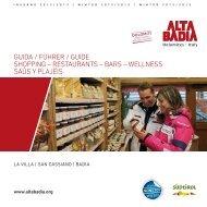 Guida dei negozi di La Villa, San Cassiano - Alta Badia