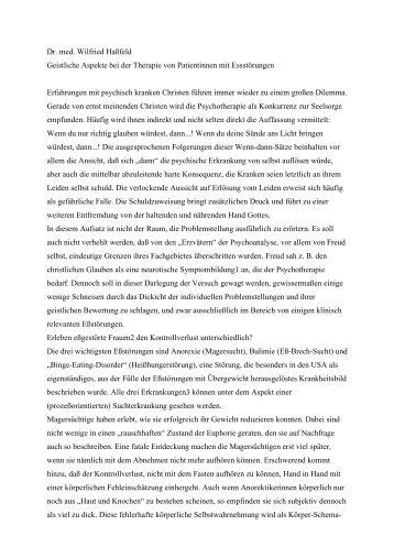 Essstoerungen.pdf - Weißes Kreuz e.V.