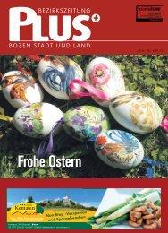 Frohe Ostern - Zu den Bezirkszeitungen