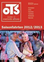 Saisonfahrten 2012/2013
