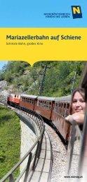 Mariazellerbahn auf Schiene - NÖVOG