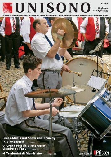 I Tamburini di Mendrisio - Schweizer Blasmusikverband
