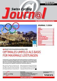 Swiss Cycling Journal 07/2004 - Velo-Moto-Club Männedorf