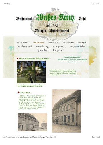 Unser Haus.pdf - Hotel-Restaurant Weisses Kreuz