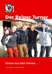 Der Belper Turner - TV Belp