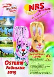 Ostern - NRS gute Reise