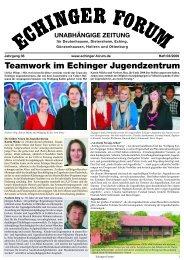 2009 03 - Echinger Forum