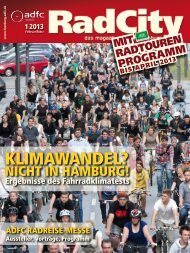 KLIMAWANDEL? - ADFC Hamburg