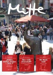 Drehen, drehen, drehen … Love it - Mitte – Das Bremer Citymagazin