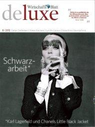Wirtschafts Blatt Deluxe - Augarten Porzellan