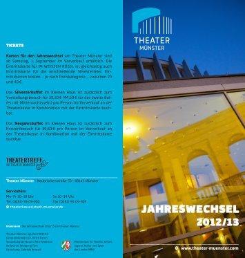 JAHRESWECHSEL 2012/13
