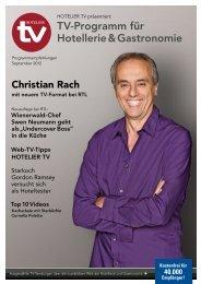 TV-Programm für Hotellerie & Gastronomie - medienunternehmung