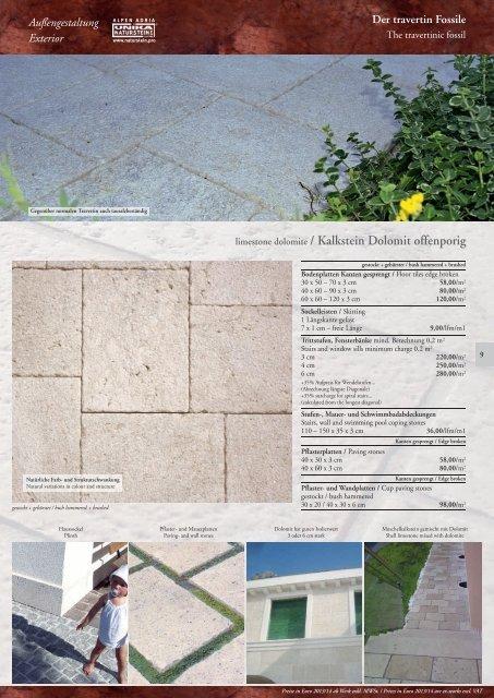 shell limestone white / Muschelkalkstein weiß - Unika Natursteine ...
