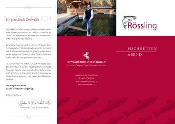 Rössling - Hotel Weisses Rössl