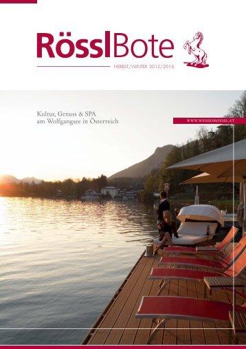 roesslbote 2_2012_de neu.indd - Hotel Weisses Rössl