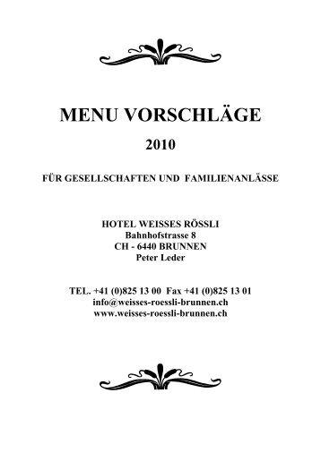 downloaden - Hotel Weisses Rössli Brunnen