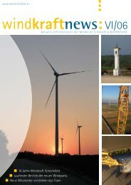 Ausgabe 6/2006 - Windkraft Simonsfeld