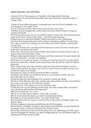 Jakobs Segen über seine zwölf Söhne (Genesis 49,1-28 ...