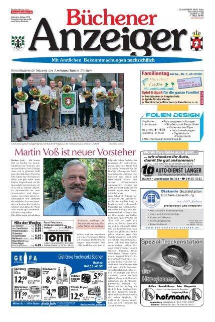Martin Voß ist neuer Vorsteher - Gelbesblatt Online