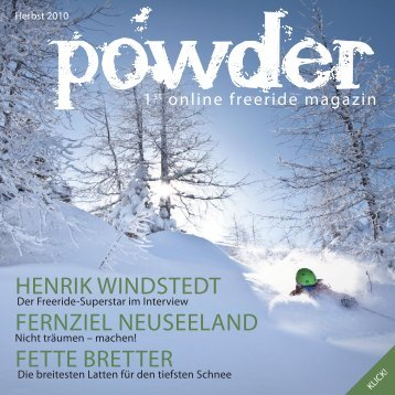 Henrik Windstedt FernZiel neuseeland Fette Bretter