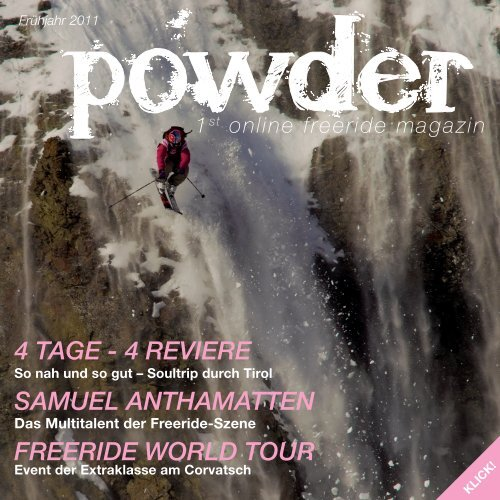 4 Tage - 4 RevieRe Samuel anThamaTTen FReeRide woRld TouR